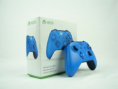 Blue Wireless Xbox One Controller - Microsoft Model 1708 - Missing Box