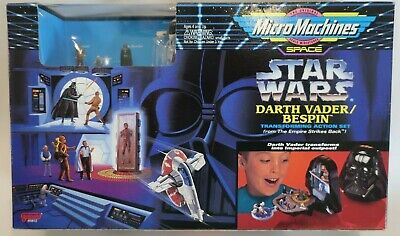 Micro Machines Star Wars Darth Vader Bespin  MISB