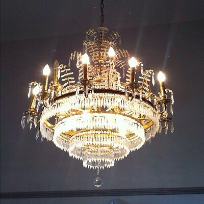 Amazing Massive Crystal Strass Chandelier