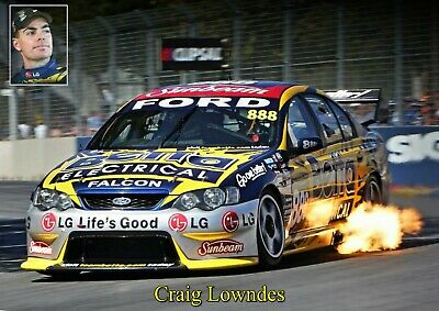 Craig Lowndes Poster BA Ford 2006.