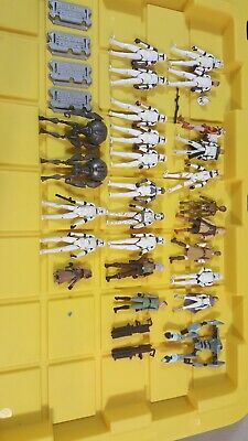 Star Wars hasbro clone wars action figures lot mace padme arf cody droid c3po