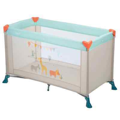 Safety 1st Campingbedje Soft Dreams Lichtblauw Babybed Kinderbed Co-Sleeper