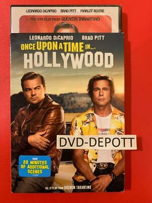 Once upon a Time in Hollywood DVD & Slipcover {AUTHENTIC READ LISTING} New