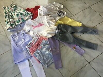Girls clothes age 2-3 Gap Next H & M River Island tops leggings cardigan