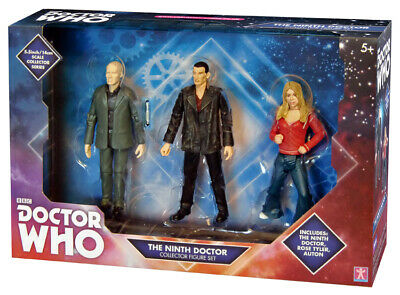Doctor Who - The Ninth Doctor And Rose Tyler Collectable Figure Set - Great Gift