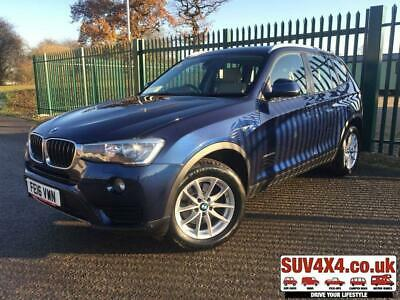 2016 16 Bmw X3 2.0 Xdrive20D Se 5D 188 Bhp 4Wd Sat Nav Leather Fsh Diesel