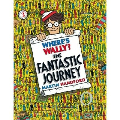 Where's Wally? The Fantastic Journey Martin Handford Book No 3 New