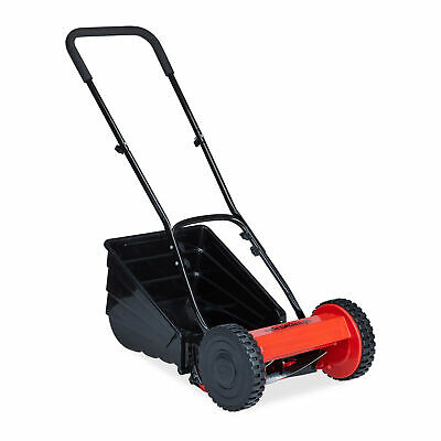 Hand Mower With Grass Box Hand Push Lawn Mower Cylinder Cutter Lawnmower
