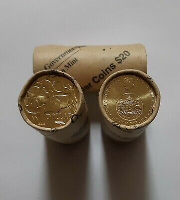 1 x 2016 CHANGEOVER $1 RAM MINT ROLL - ONE DOLLAR COIN - 1