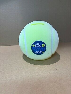 ANZ game save match Tennis Ball money box (2-98)