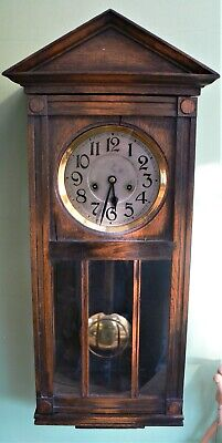 Swiss Buren Antique Pendulum Wall Clock