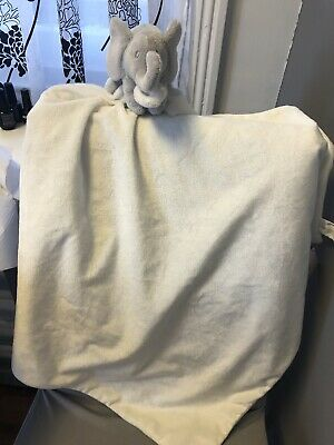 The Little White Company Elephant Large Comforter And Bear Comforter