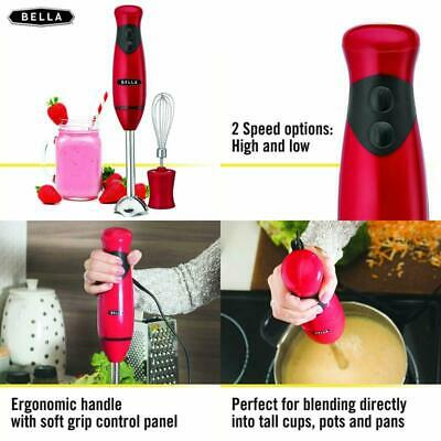 BELLA HAND IMMERSION Blender with Whisk