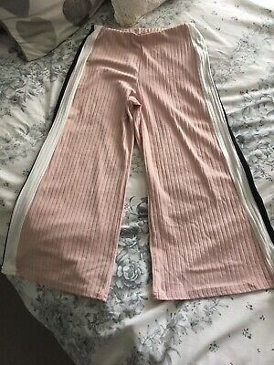 Girls New Look Cropped Trousers Age 10-11
