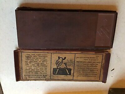 Vintage Straight Razor Hone Whet Sharpening Stone Wyeth