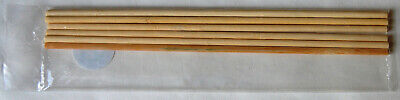 "6 x 12"" Bamboo Wood Cake Dowel Rods"