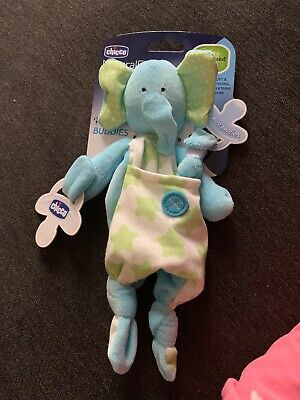 Chicco Pocket Buddies, Elephant Natural Fit Pacifier Holder