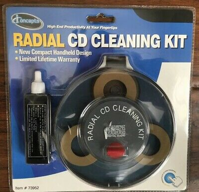 IConcepts Radial CD Cleaning Kit w/ Cleaner NIB #73952