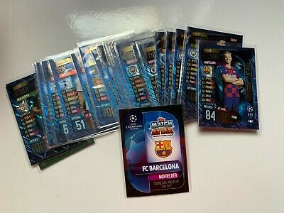 MATCH ATTAX 100 CLUB CHAMPIONS LEAGUE 2019/20 HUNDRED YOU PICK UPDATED 11th Feb