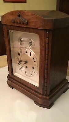 antique junghans wuttenberg  A26 mantle clock