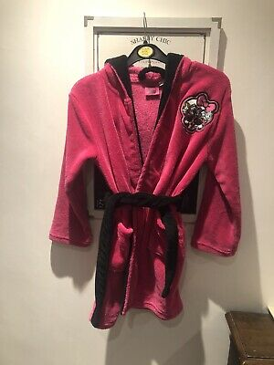 Children Girl Monster High Dressing Gown Age 6-8
