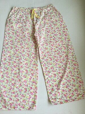 Mini Boden Floral Pyjama Bottoms Age 13-14 Years