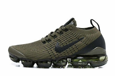 Nike Air VaporMax Flyknit 3.0 2019 Mens Running Shoes Sneakers Trainers Green
