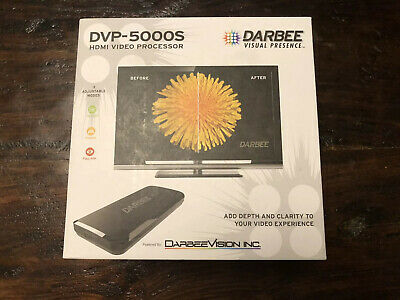 Darbeevision DVP-5000S HDMI Video Processor With Darbee Visual Presence