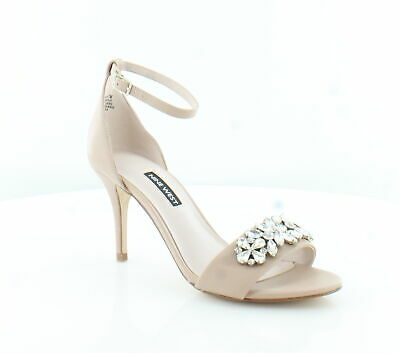 Nine West New Intimate Beige Womens Shoes Size 7 M Heels MSRP $89