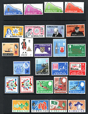 Commonwealth - Gibraltar - Selection X 26 M/M Stamps.