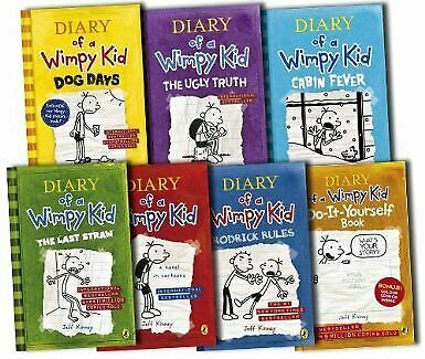 DIARY OF A WIMPY KID COLLECTION [] BY By Jeff Kinney *Excellent Condition*