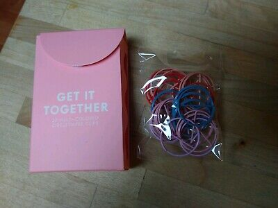 Ban.Do bando Get It Together 25 Colorful Circle Paper Clips New In Box