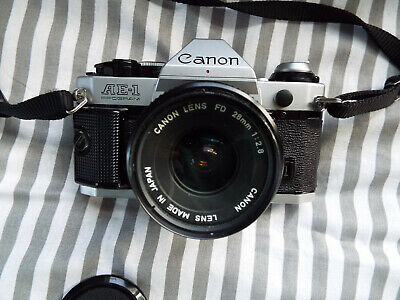 Canon AE-1 Program with a 28mm Canon lens *Film tested*