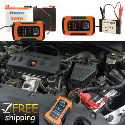 Intelligent 12V Motorcycle Motorbike Battery Chargers Automatic Smart Trickle UK