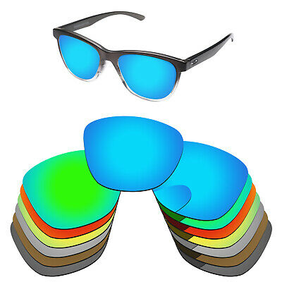 PapaViva Polarized Replacement Lenses For-Oakley Moonlighter OO9320 Sunglass-Opt