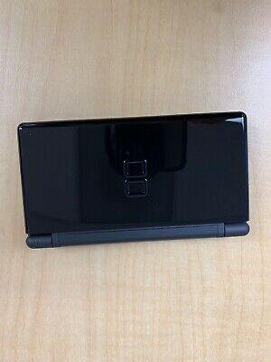 Nintendo DS Lite Launch Edition Cobalt and Black Handheld System with game