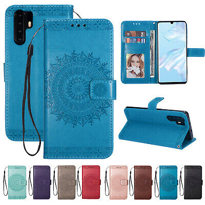 For Huawei M20 P20 P30 Lite Pro Magnetic Flip Leather Stand Wallet Case Cover