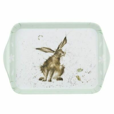 Royal Worcester Wrendale Designs Wrendale Hare Scatter Tray 21 by 14cm