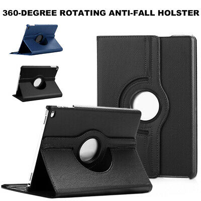 """For Apple iPad 10.2"""" 2019 7th Gen 360 Rotating Stand Leather Smart Case Cover CA"""