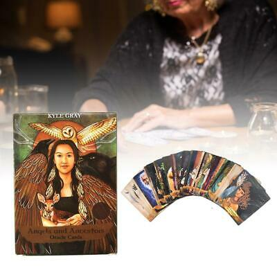 55 Sheets Angels And Ancestors Oracle Cards Board Game Tarot Card Table Play Toy