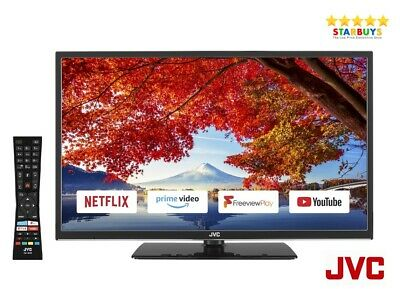 """JVC LT-24C690 24"""" Inch SMART LED TV With Freeview HD WiFi & USB Record & Play"""