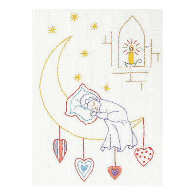 ANCHOR | Embroidery Kit: Sleeping Baby - Gift Card  | RDK59