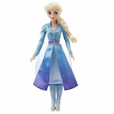 Disney Store Frozen 2 Into The Unknown Singing Elsa Doll NIB