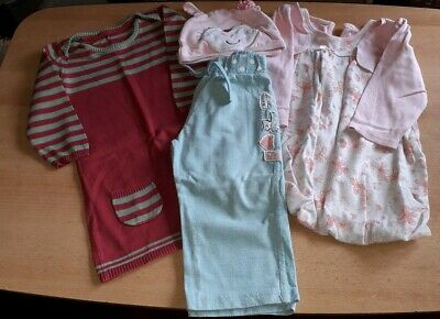 Bundle Of Baby Girls Clothes Aged 12-18 Months