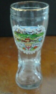 Small glass boot - SOLL TIROL - good condition
