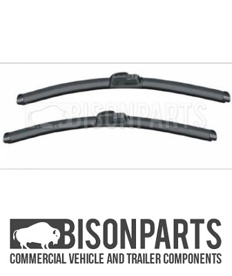 """+Fits Vauxhall Combo Direct Fit Flat Wiper Blades Driver 24"""" & Passenger 16"""""""