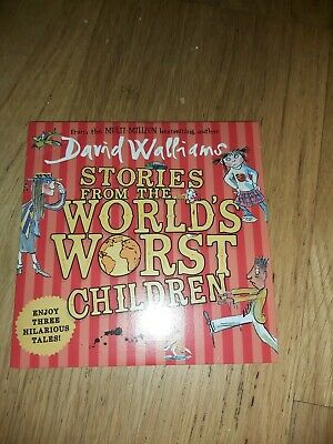 David Walliams Stories From The Worlds Worst Children C.d stocking filler