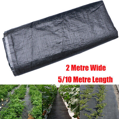 Heavy Duty Weed Control Fabric Membrane Garden Landscape Ground Cover Sheet 10M