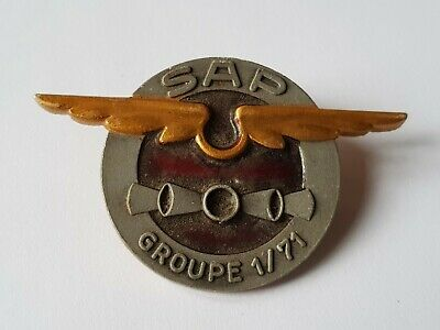 Ancienne Broche Insigne A.Augis - SAP Groupe 1/71