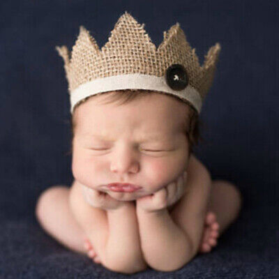0-2 Years old newborn photography props baby crown hat gxLDUK